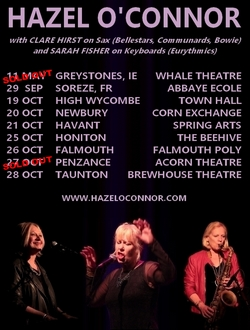Hazel O'Connor An Evening With Tour 2018