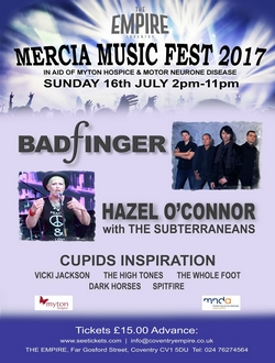 Hazel O'Connor Mercia Music Fest 2017