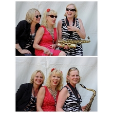 Sarah Fisher, Hazel O'Connor, Clare Hirst July 2013